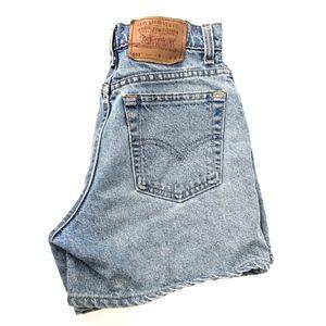 Levi's | Vintage 551 High Waist Denim Shorts